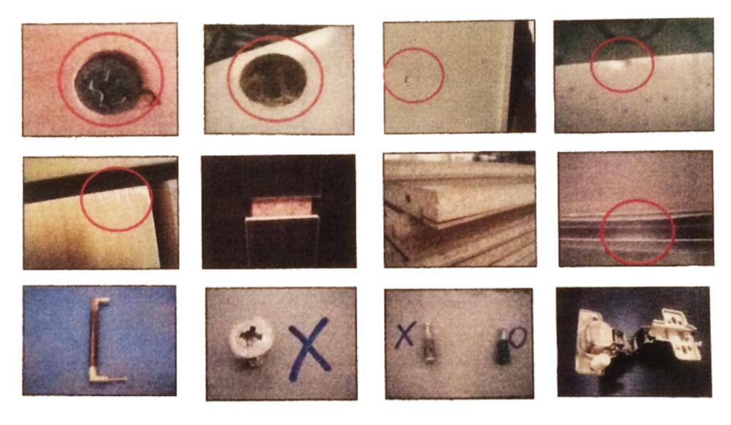 家具の検品事例