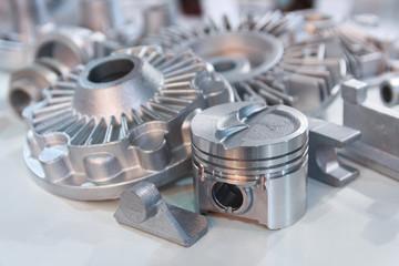 鋳造品、自動車部品の検品